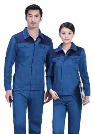 好的工作服款式可以提升员工的精神面貌